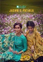 Zulfat Designer Suits Jashn e Patiala Presents By Kurti