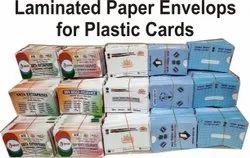 ATM PVC CARD Size Custom Design Paper Envelop