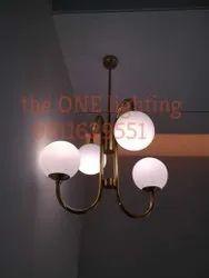 Glass Hanging Lamp, For Home, 70Watt