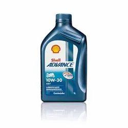 Shell Advance AX7 4T 10W-30 API SM Synthetic Technology Motorbike Engine Oil