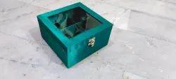 mdf Square Plain Gift Packaging Box, Box Capacity: 6-10 Kg, Size: 8x8x3