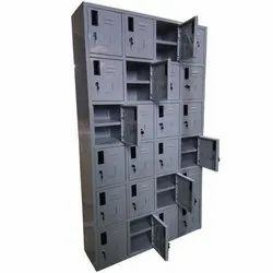 Metal And Steel Locker Almirah Office Use And Staff, Antique, More Than 3 Doors