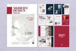 Magazine Layout Printing Service