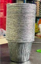 Silver Aluminum Glasses, For Restaurant, Capacity: 250 ml