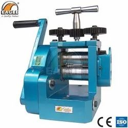 Eagle Hand Powered Rolling Mill With Side Cover For Goldsmith