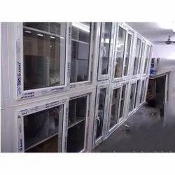 UPVC Glass Sliding Cupboard