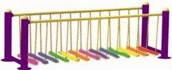 Toy Park Rainbow Balancing Bridge (10 Ft.)(MPS 518)