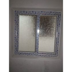 2 Track UPVC Glass Sliding Windows
