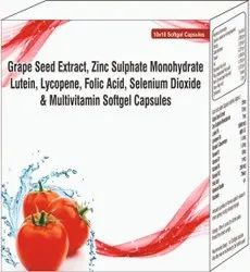 Grape Seed Extract, Zinc Sulphate Monohydrate Lutein,multivitamin Softgel Capsules