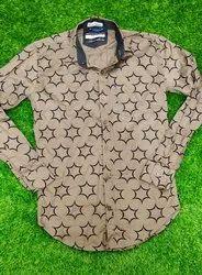 Linen Collar Neck Men's shirts