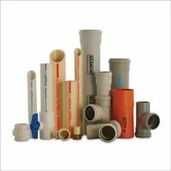 0.5 - 8 inch Astral PVC Pipes and Fittings, Plumbing, 10 feet