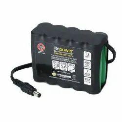 Ultra Life 9V Lithium Battery, Battery Capacity: 4500 Mah, Voltage: 12 V