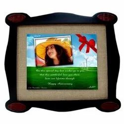 Jute Frame With Tile