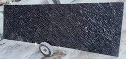 Polished Finish Black Markino Marble Slab, Thickness: 15-20 mm