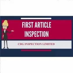 First Article Inspection Services