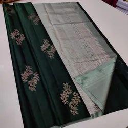 34 V Soft Lichi Silk Saree