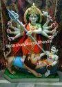 Marble Bangali Durga Statue