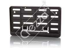 Plastic Scooty Number Plate Frame