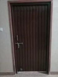 Iron Dark Brown Rectangle Door
