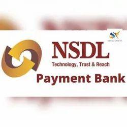 Individual Consultant NSDL Payment Bank Distributorship, in Pan India, Banking