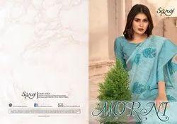 Organza Khadi Saree