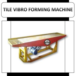 Tile Vibro Forming Machine