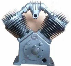 NCC Single Stage Air Compressor Head, Discharge Pressure: 6 Bar, Maximum Flow Rate (CFM): 45 Cfm