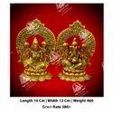 Metal Kala Laxmi Ganesha God Statue