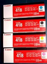 Canon 418 Laser Toner Cartridges For Printer