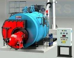 Oil & Gas Fired 10-10000 kg/hr Smoke Tube Type Steam Boiler