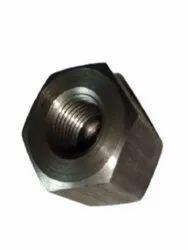 Hexagonal Stainless Steel Hex Nut, Size: 2 Inch (inch) (inner Diameter)