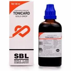 Tonicard Gold Drops, For Personal, Packaging Type: Bottle