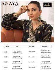 Rawayat Anaya Vol 1 Cotton Pakistani Designer Suits