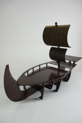 Brown MDF Board Ship, Size/Dimension: 10inch