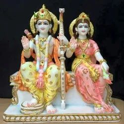 marble God Idols, For Home, Size: 15