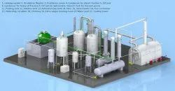 Tyre Pyrolysis Oil Distillation Plant ECO MODEL