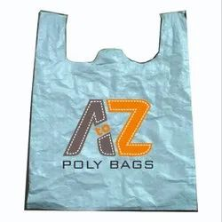 Polypropylene White PP Woven W Cut Bags, For Shopping, Storage Capacity: 10-25