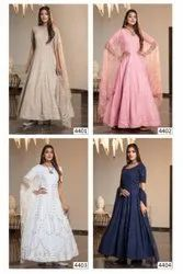 Ank Enterprise Designer Exclusive Bridal Long Gown Collection For Girls