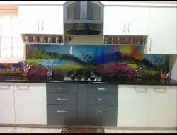 Customized Modular Kitchen Print