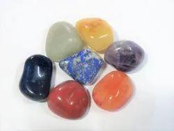7 Chakra Stone tumble HEALING Reiki set