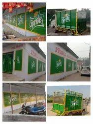 Outdoor Digital Wall Painting Advertising