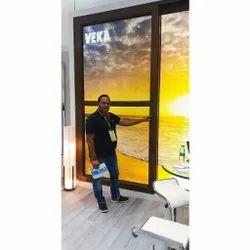 UPVC Color Glass Sliding Door