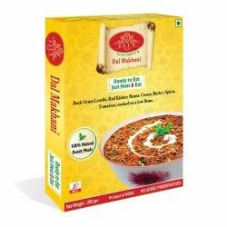 Dal Makhani Ready To Eat Food, 285 G, Packaging Type: Box