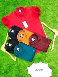 Cotton Full Sleeves Casual Wear Men Plain Shirt, Size: Medium