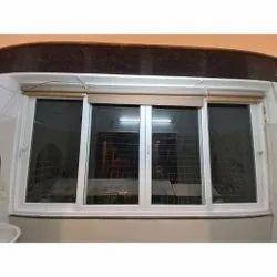 Rectangular UPVC Glass Sliding Window