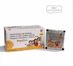 Dextrose 33.5gm, Vit C 50mg, Zinc 32.5mg,L-Glutamine -ENERGY DRINK