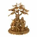 Gold Plated Big Radha Krishna Statue For Home Decoration & Corporate Gift