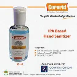 Alcohol Based Hand Sanitizer IPA 75%