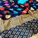Pure Japan Satin Silk Saree With Digital Print