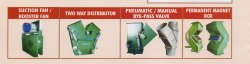 Booster Fan, Two way Distributor, Pneumatic / Manual Bye-Pass valve, Permanent Magnet Box